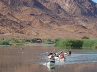 Adventurous Orange River Canoe Trip