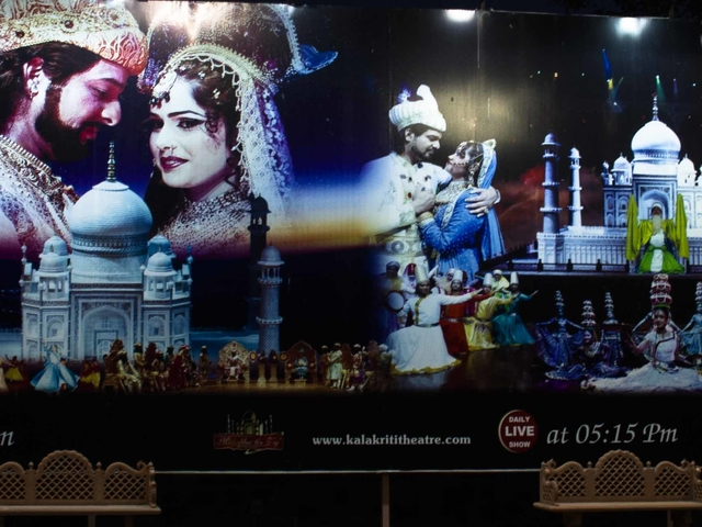 An Evening at Agra's Mohabbat The Taj Show Including Dinner Photos