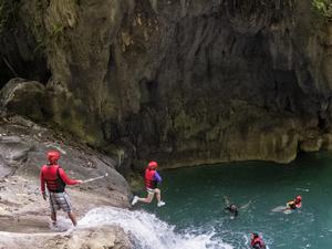 Canyoneering In Cebu Fotos