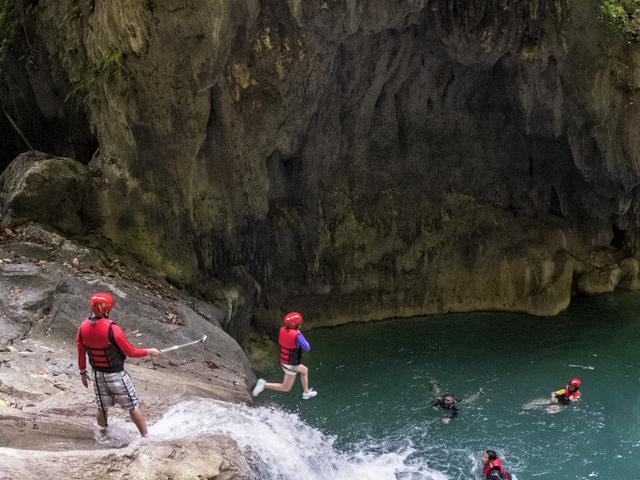 Canyoneering In Cebu Photos