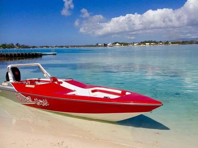 Speed Boat Mauritius Photos