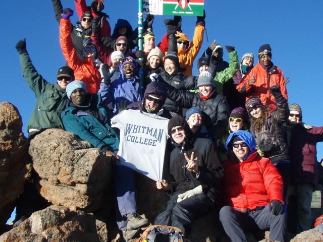 6 Days Climbing Mount Kenya Sirimon Naro Moru Route Photos