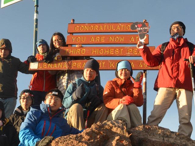 Mount Kenya Trekking Photos