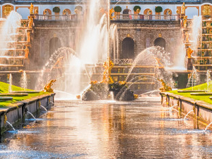 Peterhof Tour with Private Driver and Hydrofoil Ride Fotos