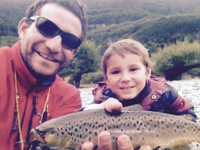Family tour with Fly Fishing Lessons Photos