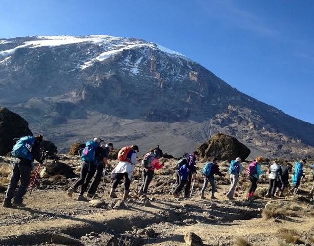 7 Days Machame Route Climbing Photos