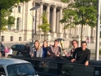 Berlin City Tour in Vintage Trabi-XXL Trabant Stretch Limousines