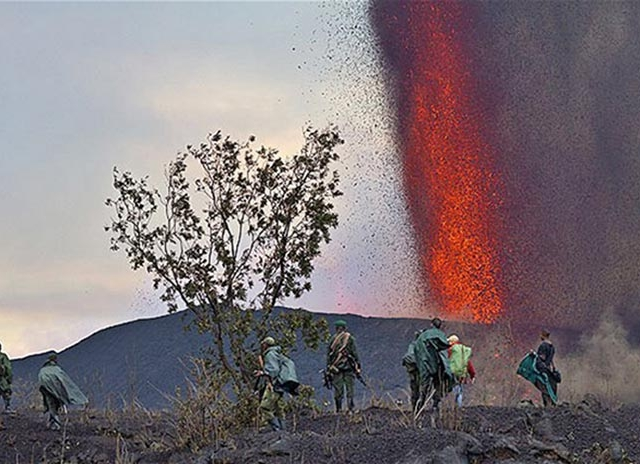 Hike Nyiragongo in Congo Photos