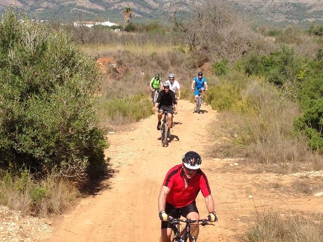 Mountain Bike Tour Rio Gorgos Photos