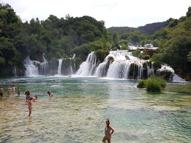 National Park Krka Waterfalls Photos