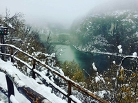 Plitvice Lakes Winter