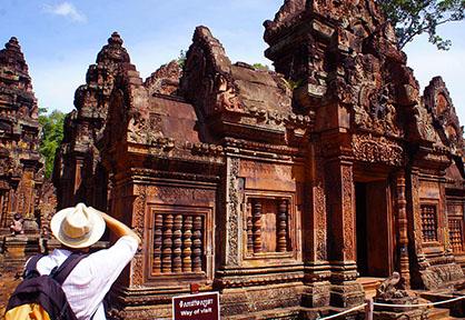 Grand Tour & Banteay Srei Photos