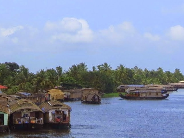 In the Backwaters of Kerala Photos