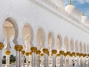 Half Day Sheikh Zayed Mosque from Dubai Photos