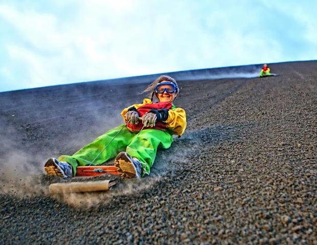 Extreme Adventure at Cerro Negro Photos