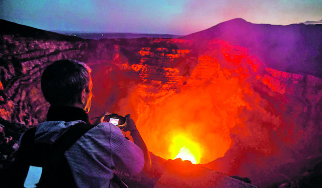 Masaya Volcano Night Tour Photos