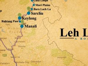 Leh Ladakh - A Road Trip Photos