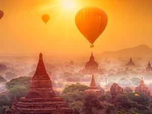 Ancient Myanmar Vacation Photos