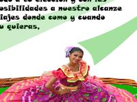 Tarjeta Nicaragua Travel Guide Vestido Rosado