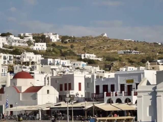 Mykonos and Santorini Tour Photos