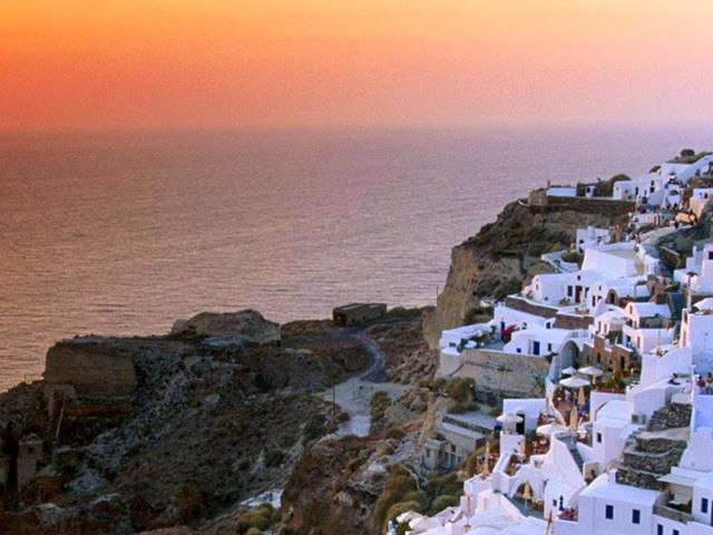 Santorini and Crete Greek Island Hopping Photos