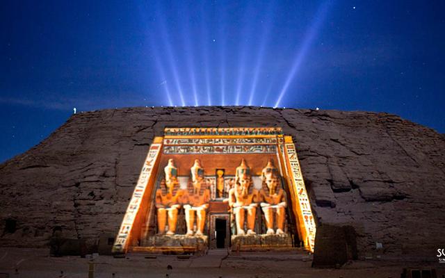 Sound And Light Show At Karnak Temple Photos