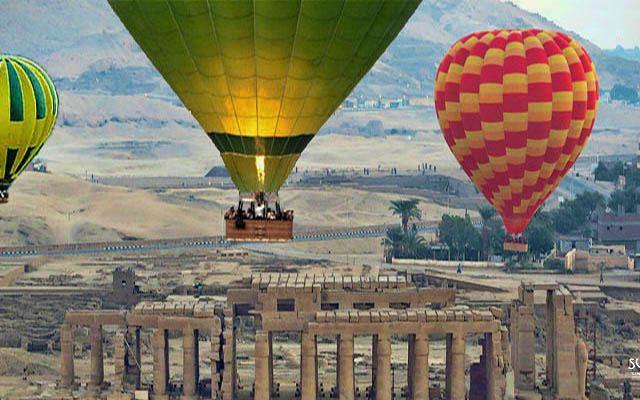 Trip Hot Air Balloon Ride in Luxor, Egypt Photos