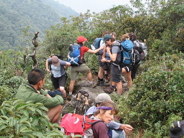 Trekking Fansipan Vietnam Via Sinchai Route Photos