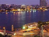 Cairo nocturno con cena (in privado).