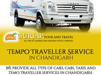Chandigarh Tempo Traveller Service