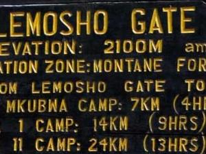 Mt. Kilimanjaro - Lemosho Route 8 Days Hiking Photos