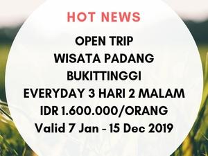 Tour Padang 3D2N Fotos