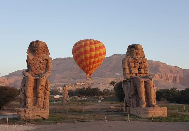 Hot Air Balloon Ride in Luxor, Egypt Photos