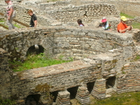German Gruppe Visit In Butrint - Albania.