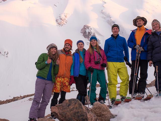 Backcountry on Molodyozhniy Peak Photos