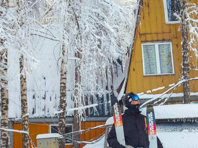 Freeride on Ski-Base «Elik-Sai» Photos