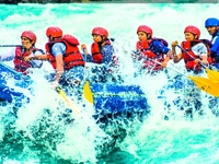 Rishikesh Rafting Package | Alpine Tents Rishikesh