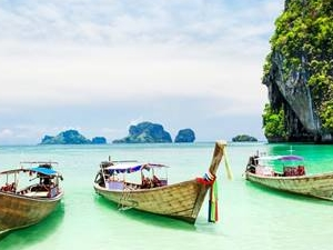 KRABI: Join Tour 4 Island Snorkeling with Lunch by Long Trail Boat