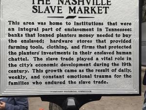 Nashville Slavery to Freedom Walking Tour Fotos
