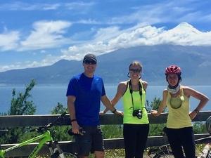 Biking by Puerto Varas - Llanquihue - Frutillar
