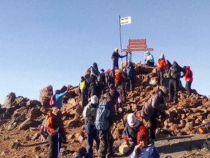 4DAYS MT KENYA CLIMBING PACKAGE - SIRIMON ROUTE
