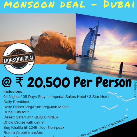 Monsoon Deal - DUBAI Photos
