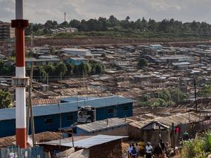Africa's Biggest Urban Cities KIBERA Fotos
