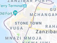 Map Of Stone Town