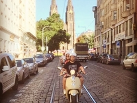 Big scooter tour of Prague, for two