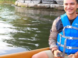 Sunset Canoe Tour on the Toronto Islands