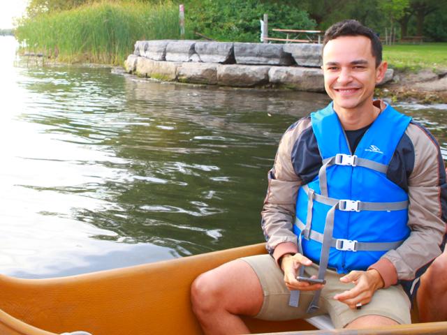 Sunset Canoe Tour on the Toronto Islands Photos
