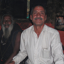 Dad With Kali Baba 002