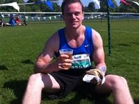 Beer And A Burger After Edinburgh Half Marathon Brennan Basnicki My Social Passport