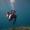 Snorkeling & Diving at Open Sea of Mount Krakatau
